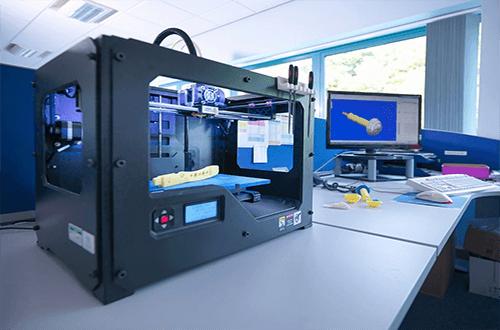 using a 3d printer