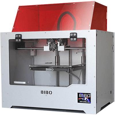 BIBO 3D Printer Dual Extruder Laser