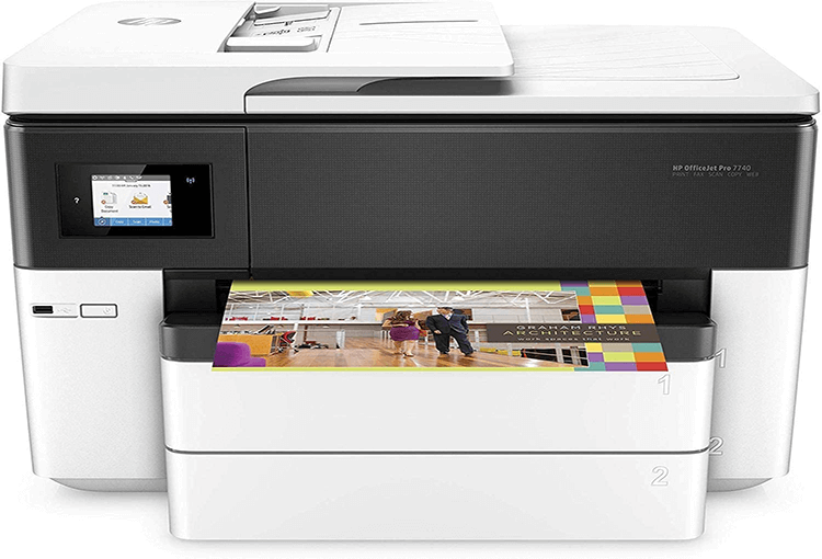 HP Officejet Pro 7740 Review
